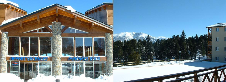 Résidence Pyrénée 2000 - Font Romeu - Appart Vacances Pyrénées 2000 - hiver
